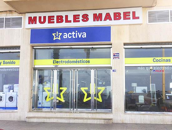 muebles mabel activa electrodomésticos